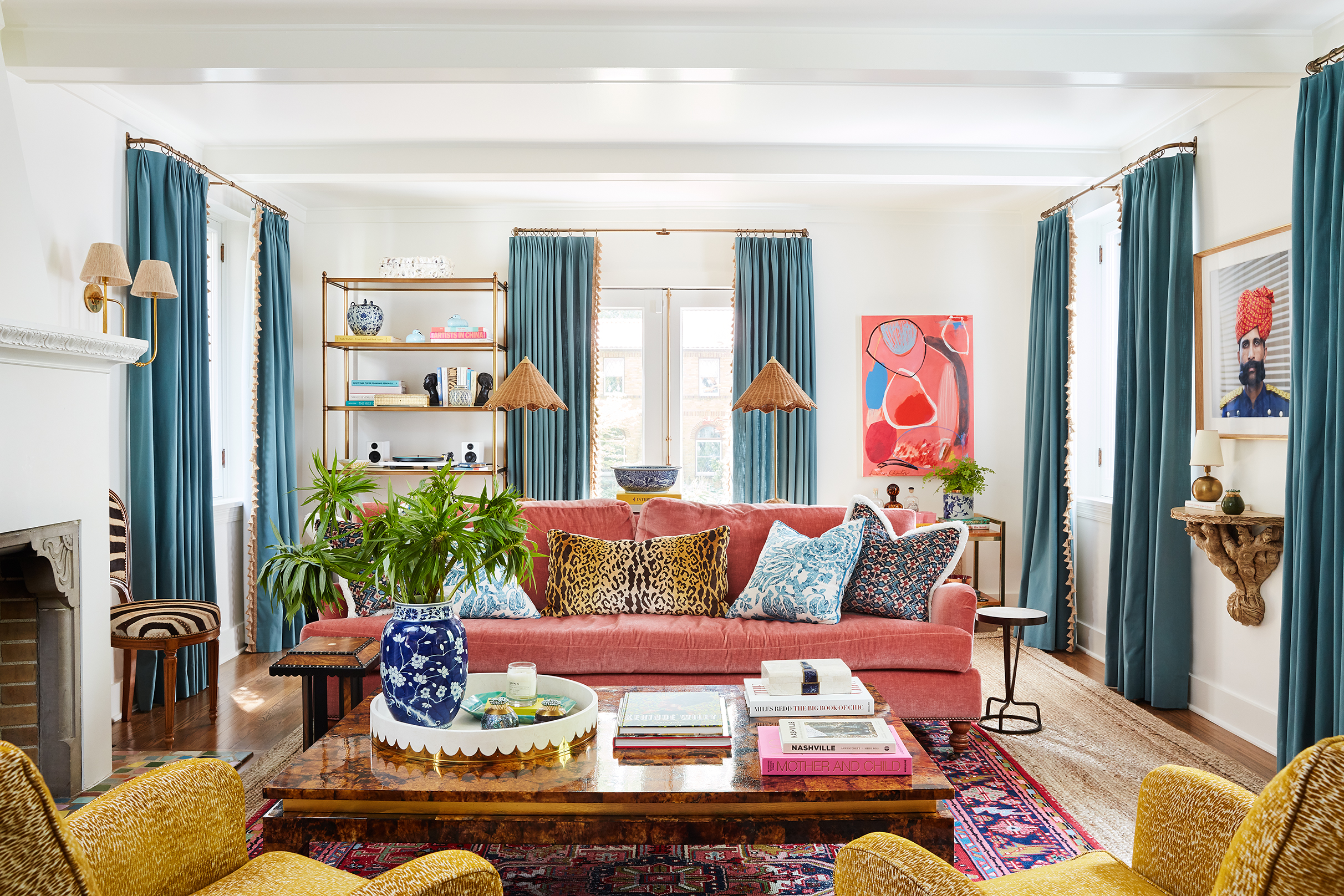 Kingsbury Project: Living room couch